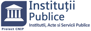 Institutii Publice Logo